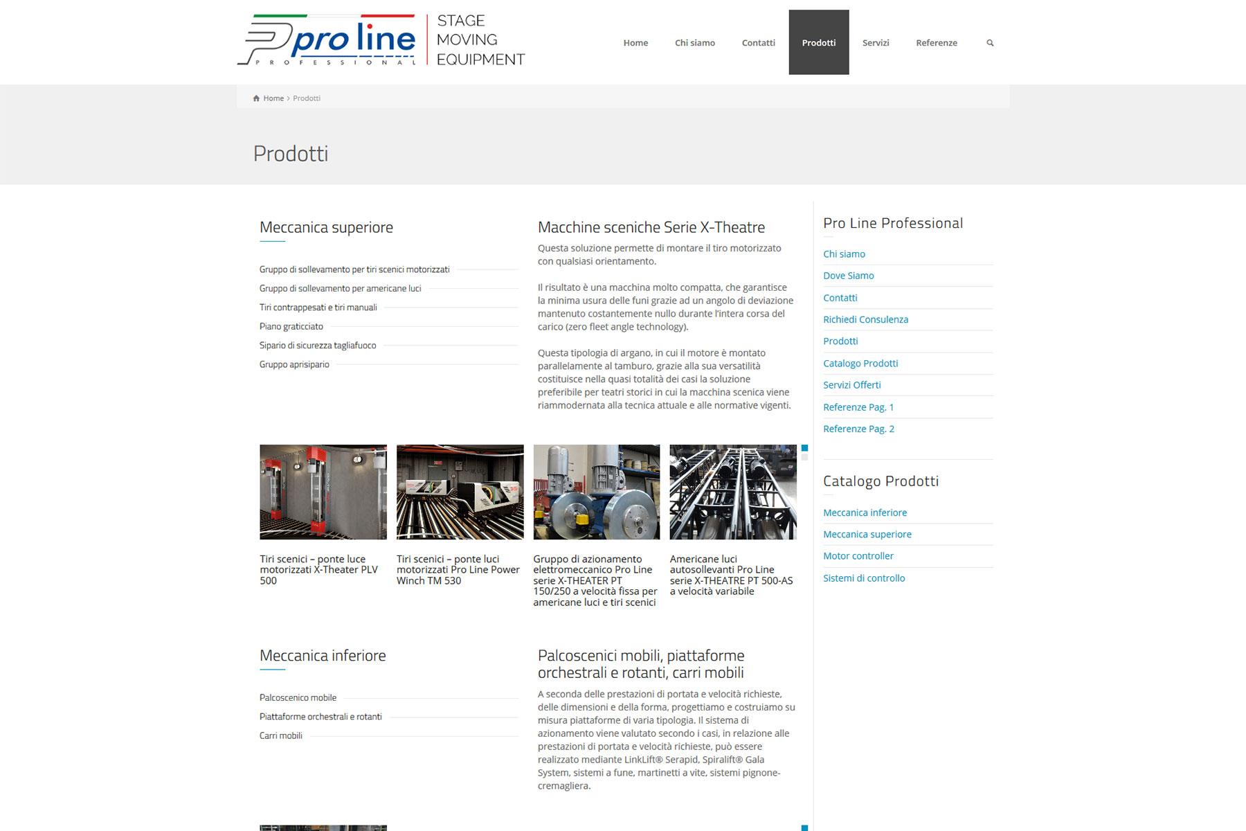 xplay-agenzia-web-sito-proline-professional-este-padova